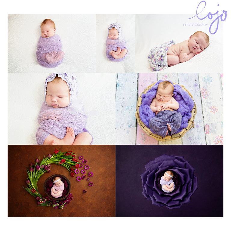 At the tender age of 7 days ms saria came to visit lojo photography canberra newborn photography for her first official photo session